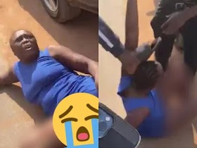 Lady Who Stole Iphone 12 Disgraced in Calabar (Photos)