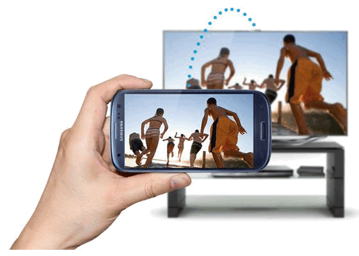 connect phone to TV wirelessly